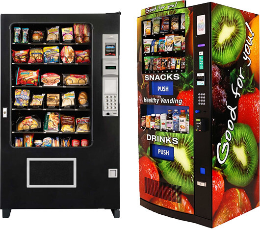 Snacking Healthy at Your Local Vending Machine